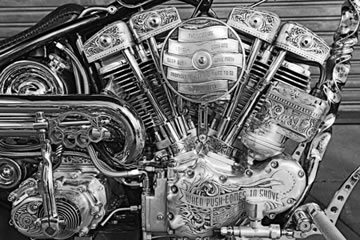 Custom Motorcycle Engine
