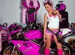 Pink Motorcycle Gear