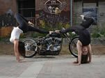 motorcycle contortion