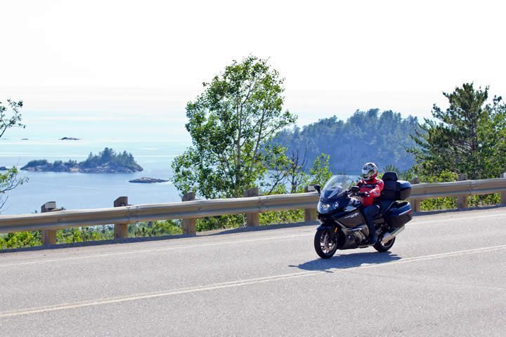 Lake Superior motorcycle tour
