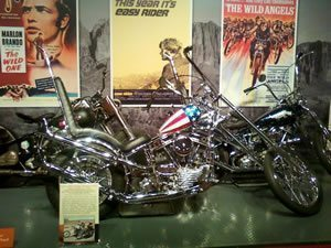 Captain America motorcycle from Easy Rider by Incandescere's Gallery on FlickR | http://www.flickr.com/photos/37617704@N08/7622973750