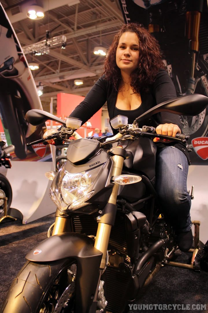 Toronto Motorcycle Show Ducati 848 Streetfighter