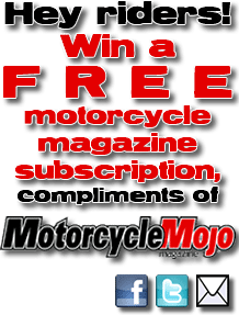 win free motorcycle magazine subscription