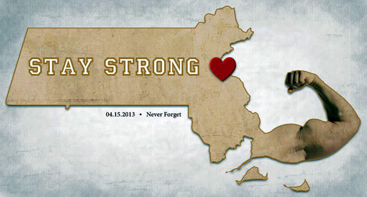 boston marathon stay strong