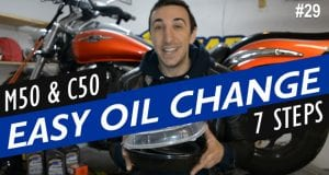 How to Change the Oil on a Suzuki Boulevard M50 / C50
