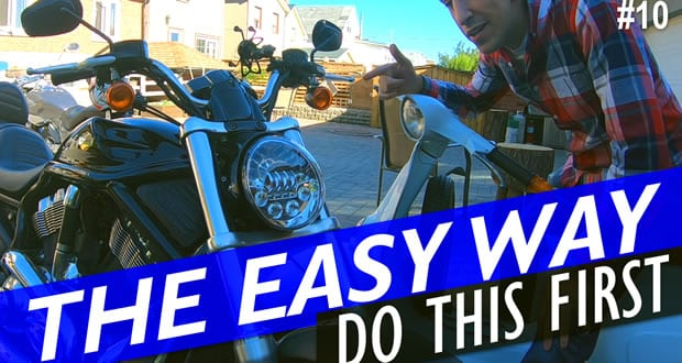 How to test a motorcycle headlight