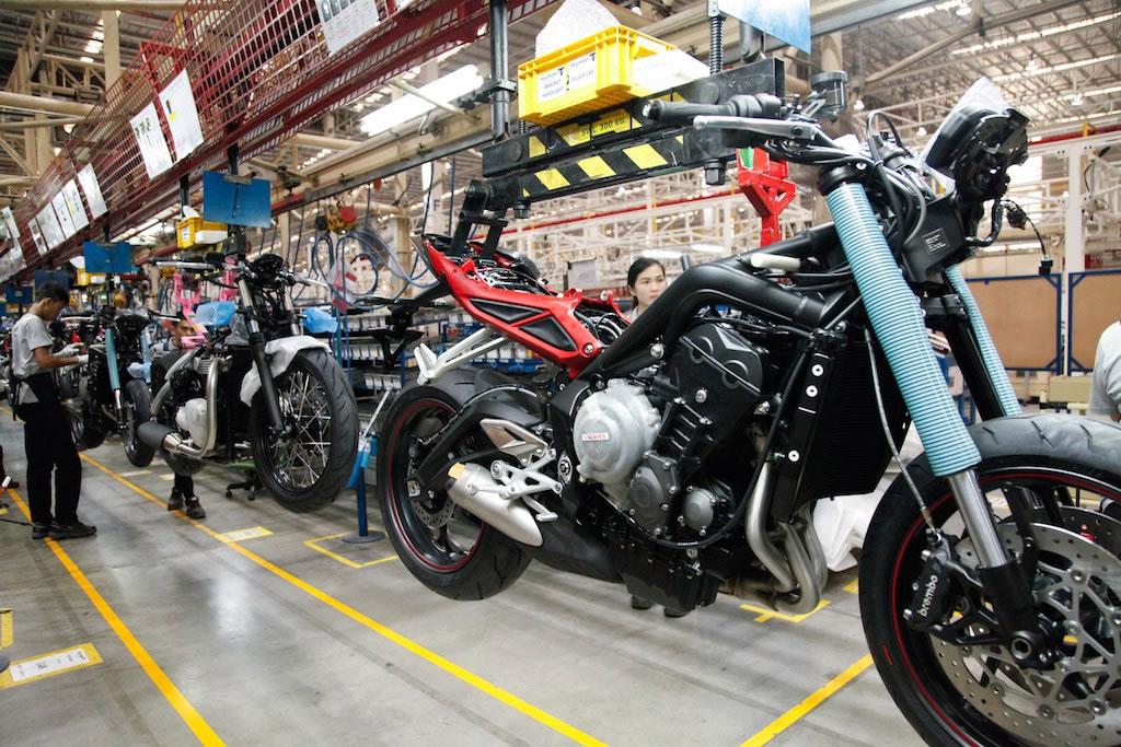Triumph Thailand plant